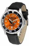 Oregon State Beavers Competitor AnoChrome Men's Watch - Color Bezel