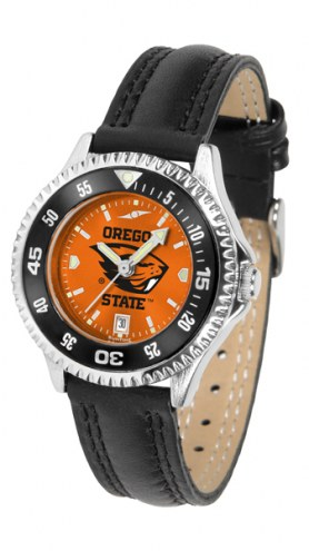 Oregon State Beavers Competitor AnoChrome Women's Watch - Color Bezel