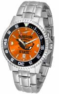 Oregon State Beavers Competitor Steel AnoChrome Color Bezel Men's Watch
