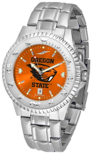 Oregon State Beavers Competitor Steel AnoChrome Men's Watch