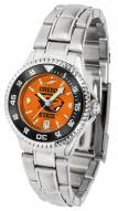 Oregon State Beavers Competitor Steel AnoChrome Women's Watch - Color Bezel