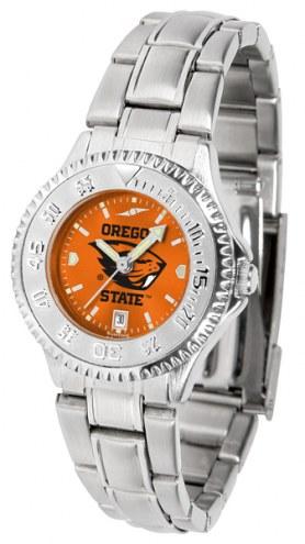 Oregon State Beavers Competitor Steel AnoChrome Women's Watch