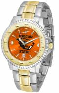 Oregon State Beavers Competitor Two-Tone AnoChrome Men's Watch