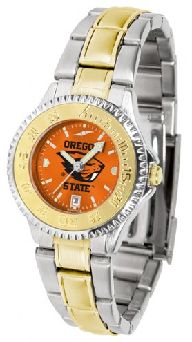 Oregon State Beavers Competitor Two-Tone AnoChrome Women's Watch