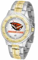 Oregon State Beavers Competitor Two-Tone Men's Watch