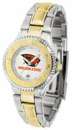 Oregon State Beavers Competitor Two-Tone Women's Watch