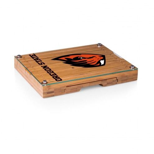 Oregon State Beavers Concerto Bamboo Cutting Board