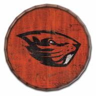 "Oregon State Beavers Cracked Color 24"" Barrel Top"