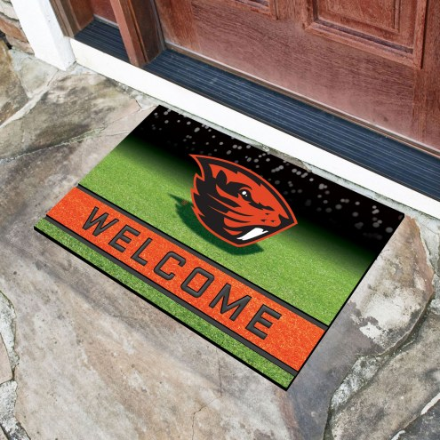 Oregon State Beavers Crumb Rubber Door Mat