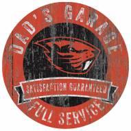 Oregon State Beavers Dad's Garage Sign