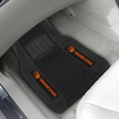 Oregon State Beavers Deluxe Car Floor Mat Set