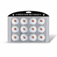 Oregon State Beavers Dozen Golf Balls