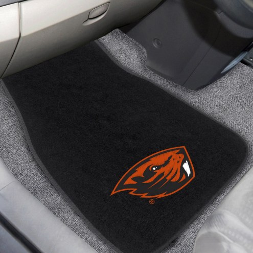 Oregon State Beavers Embroidered Car Mats