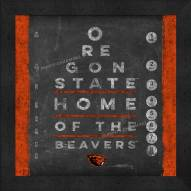 Oregon State Beavers Eye Chart