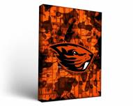 Oregon State Beavers Fight Song Canvas Wall Art