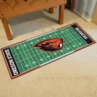 Oregon State Beavers Football Field Runner Rug