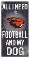Oregon State Beavers Football & My Dog Sign