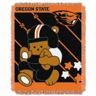 Oregon State Beavers Fullback Baby Blanket