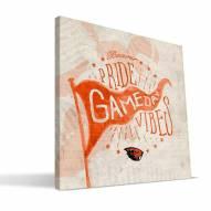 Oregon State Beavers Gameday Vibes Canvas Print