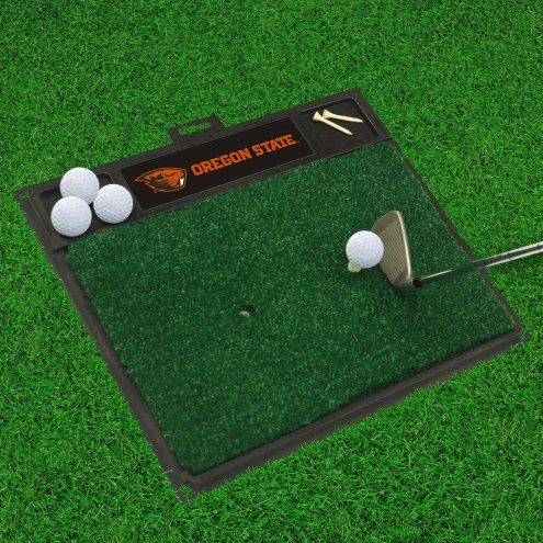 Oregon State Beavers Golf Hitting Mat
