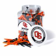 Oregon State Beavers 175 Golf Tee Jar