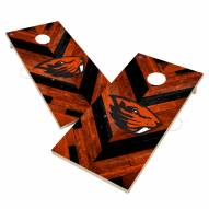 Oregon State Beavers Herringbone Cornhole Game Set