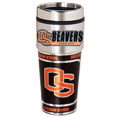 Oregon State Beavers Hi-Def Travel Tumbler