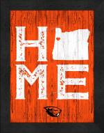 Oregon State Beavers Home Away From Home Wall Decor