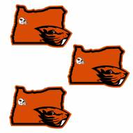 Oregon State Beavers Home State Decal - 3 Pack