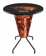 Oregon State Beavers Indoor/Outdoor Lighted Pub Table