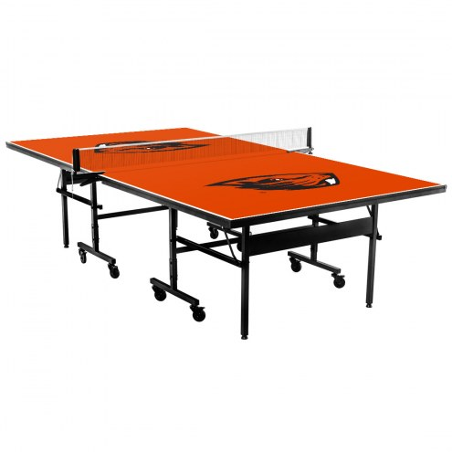 Oregon State Beavers Indoor Ping Pong Table