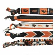 Oregon State Beavers Knotted Hair Tie