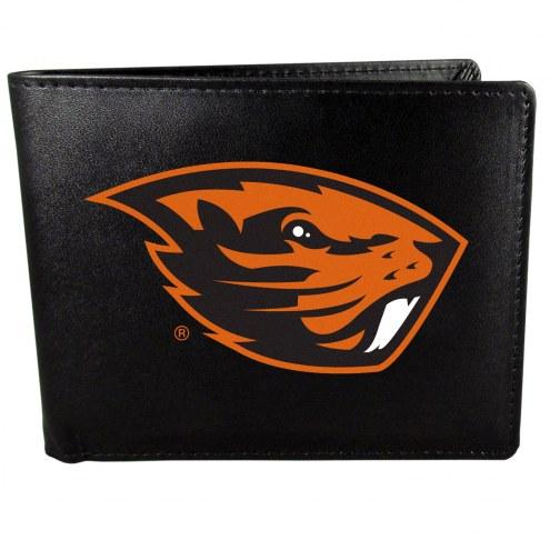 Oregon State Beavers Large Logo Bi-fold Wallet