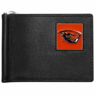 Oregon State Beavers Leather Bill Clip Wallet