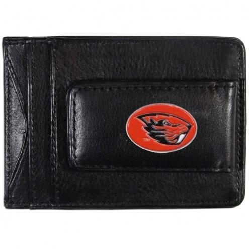 Oregon State Beavers Leather Cash & Cardholder
