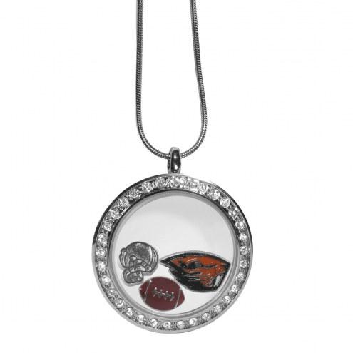 Oregon State Beavers Locket Necklace