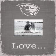Oregon State Beavers Love Picture Frame