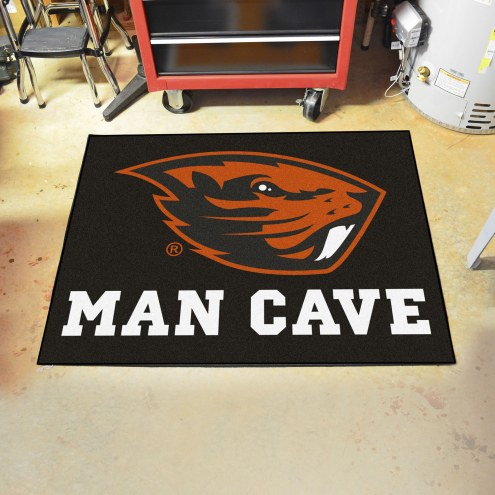 Oregon State Beavers Man Cave All-Star Rug