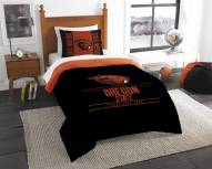 Oregon State Beavers Modern Take Twin Comforter Set