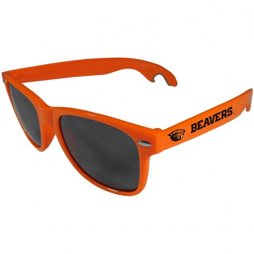 Oregon State Beavers Orange Beachfarer Bottle Opener Sunglasses