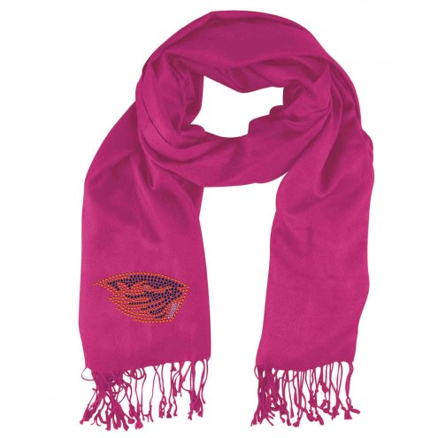 Oregon State Beavers Pink Pashi Fan Scarf