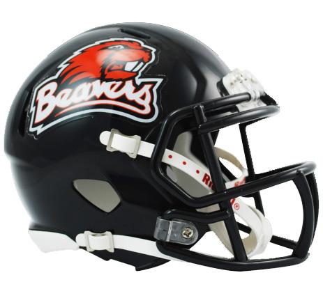 Oregon State Beavers Riddell Speed Mini Collectible Football Helmet