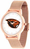 Oregon State Beavers Rose Mesh Statement Watch