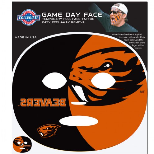 Oregon State Beavers Set of 8 Game Day Faces