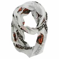 Oregon State Beavers Sheer Infinity Scarf