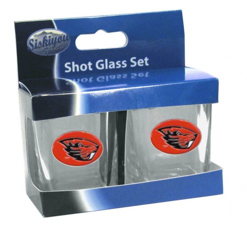 Oregon State Beavers Shot Glass Set