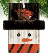 Oregon State Beavers Snowman Ornament