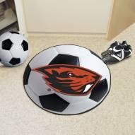 Oregon State Beavers Soccer Ball Mat