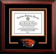 Oregon State Beavers Spirit Diploma Frame