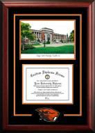 Oregon State Beavers Spirit Graduate Diploma Frame